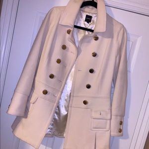 White express trench coat